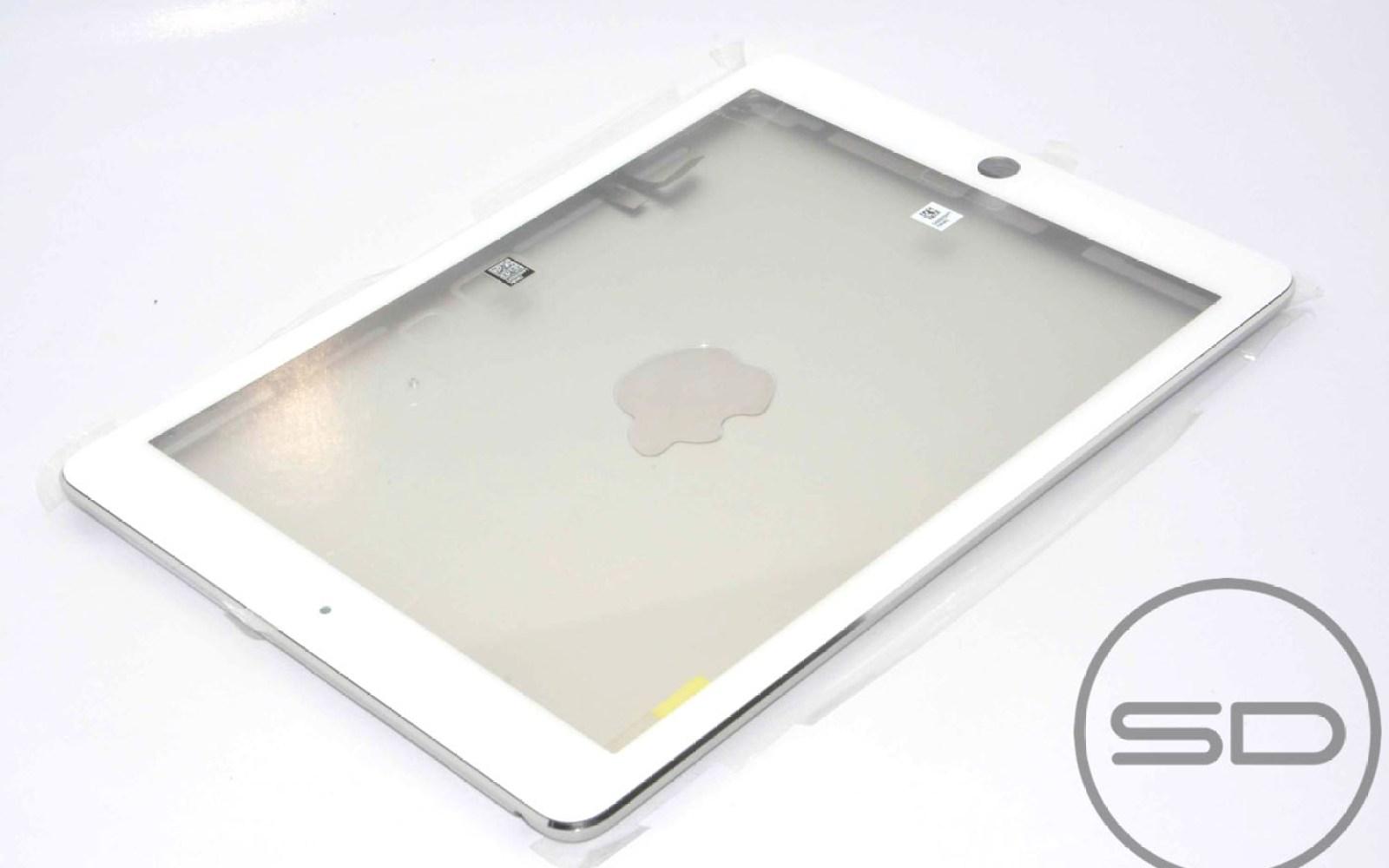 Parts leaker puts iPad 5 front panel on iPad 5 back, 1% of the way to DIY iPad