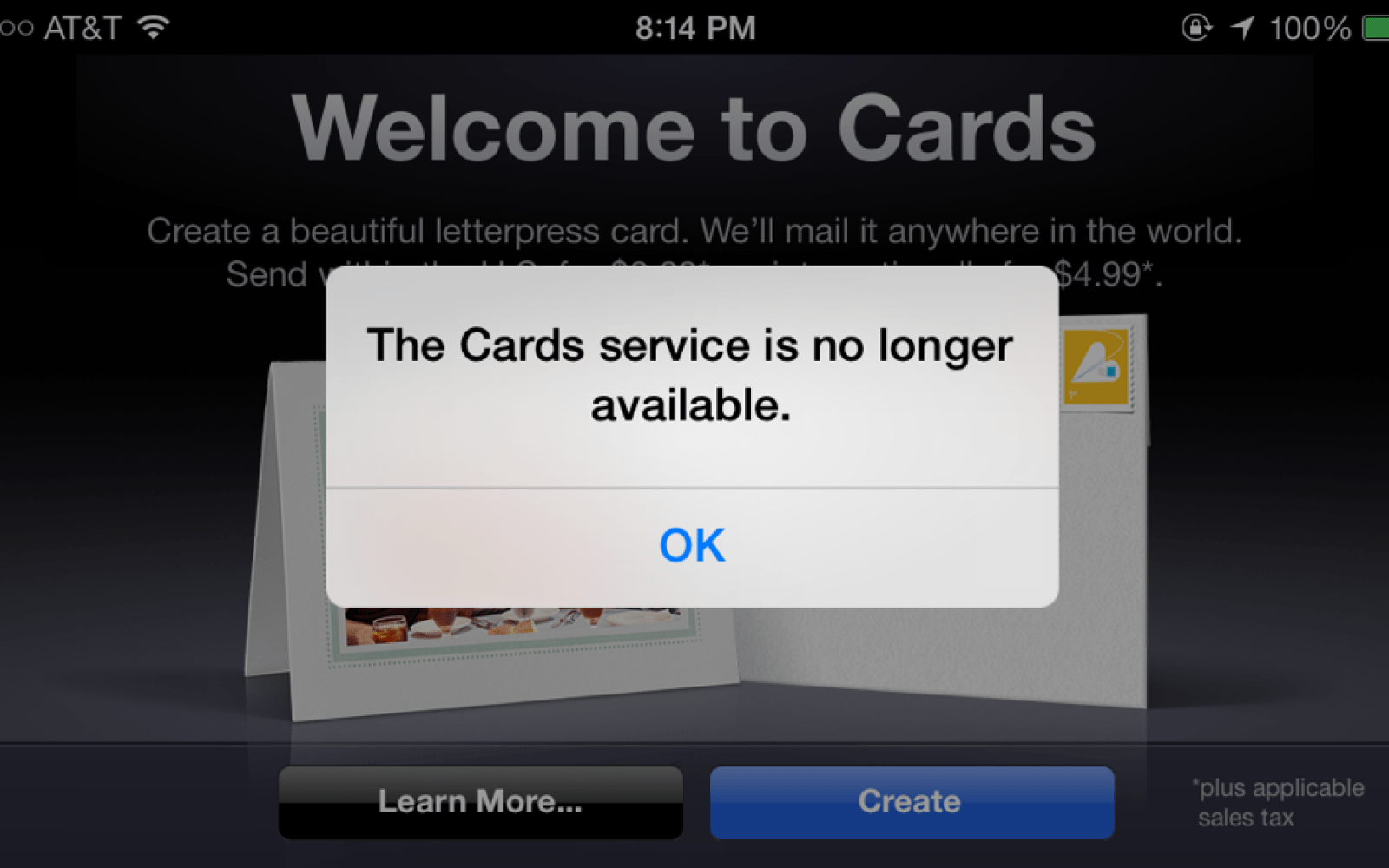 Apple Confirms Cards App For Ios Is Discontinued Recommends Iphoto