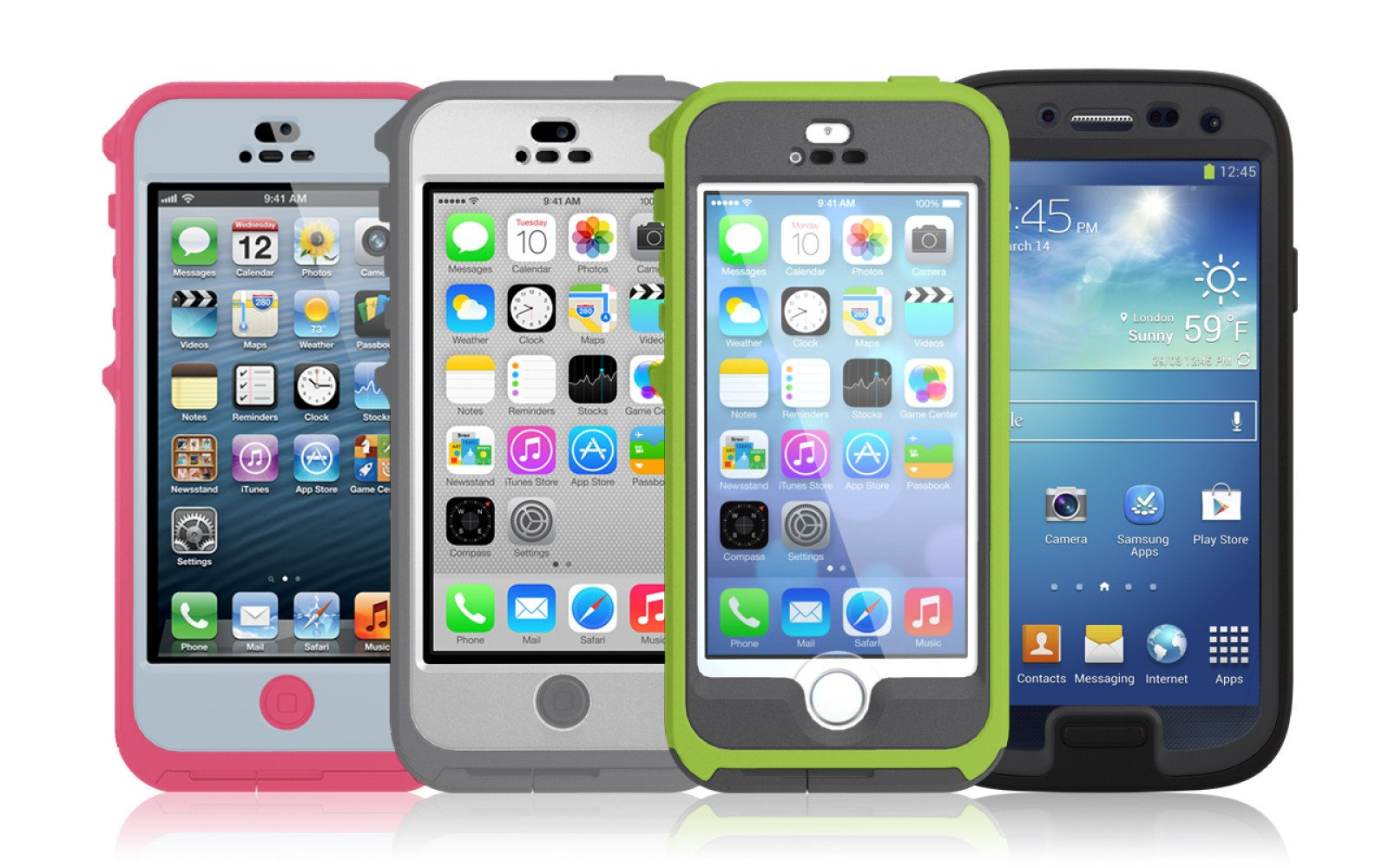 OtterBox releases new Preserver Series waterproof cases for the iPhone 5/5s/5c