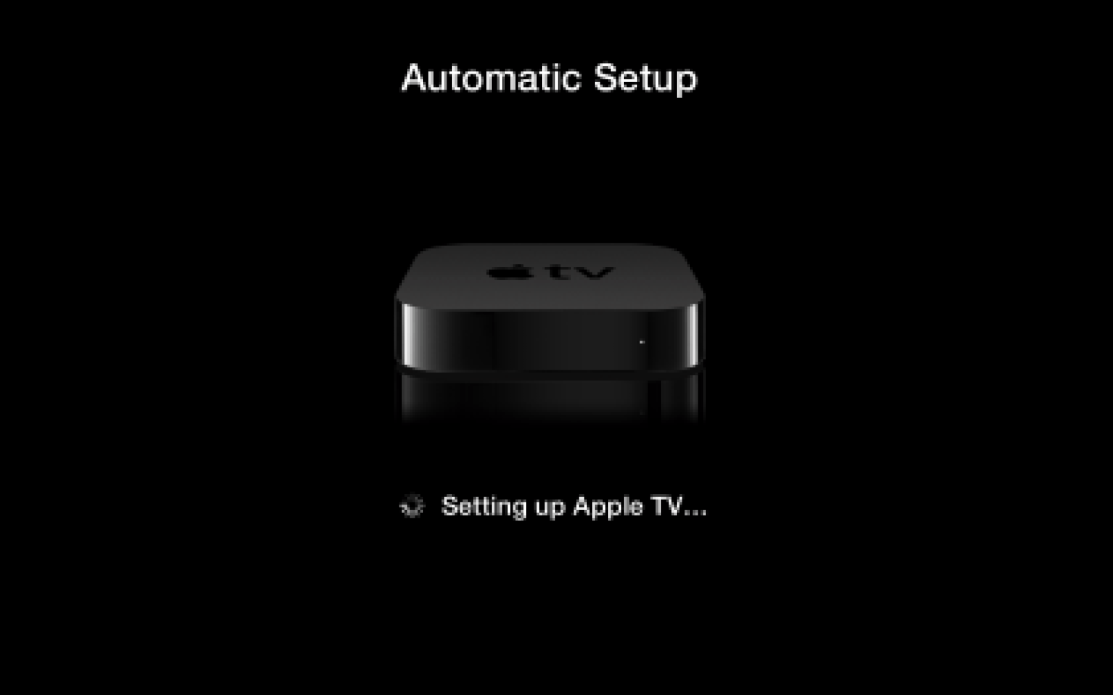 How-to: Automatically set up an Apple TV by touching it to your iOS Device