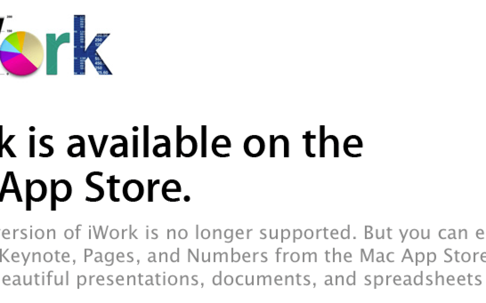 Mac App Store bug allows iWork trial users to update the