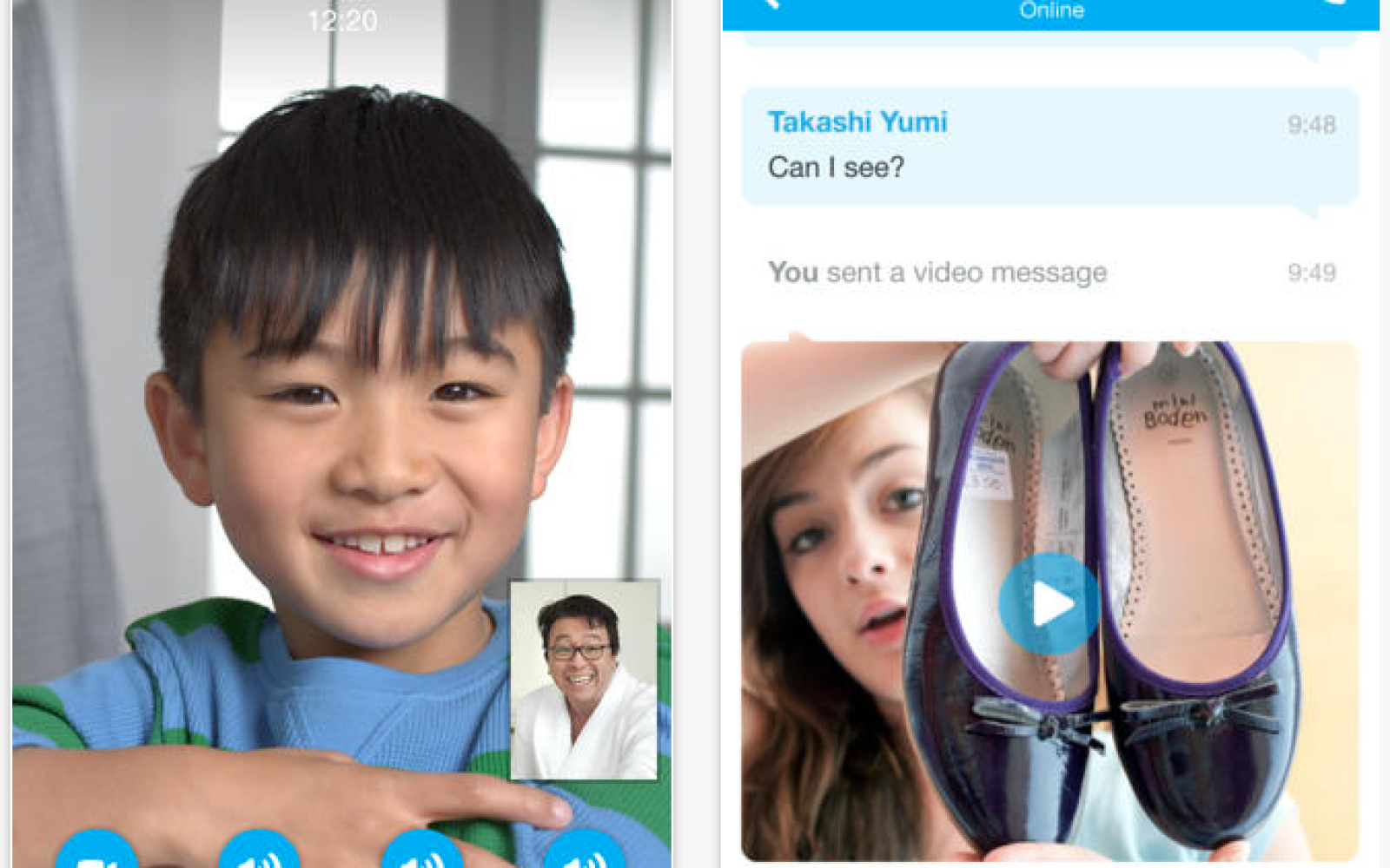 Skype for iPhone gets a flatter, cleaner look for iOS 7