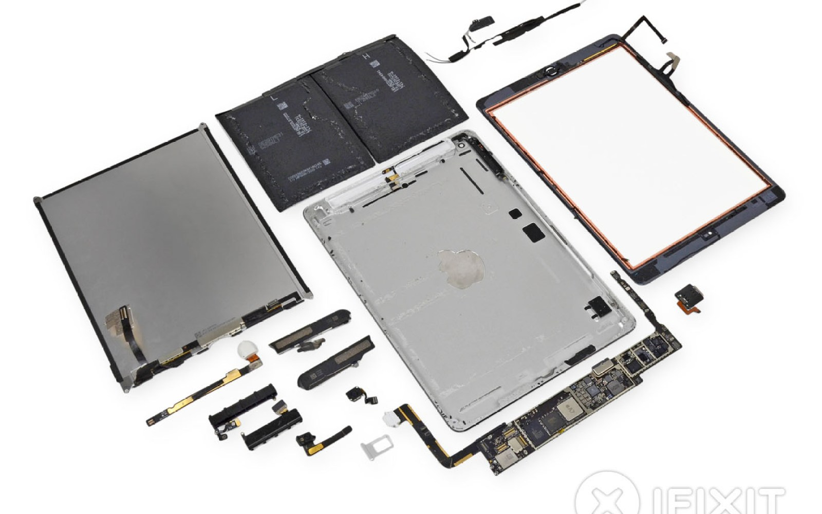 iPad Air teardown: never mind the repairability, feel the tech