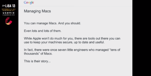 How Google manages over 40,000 Macs…without much help from Apple