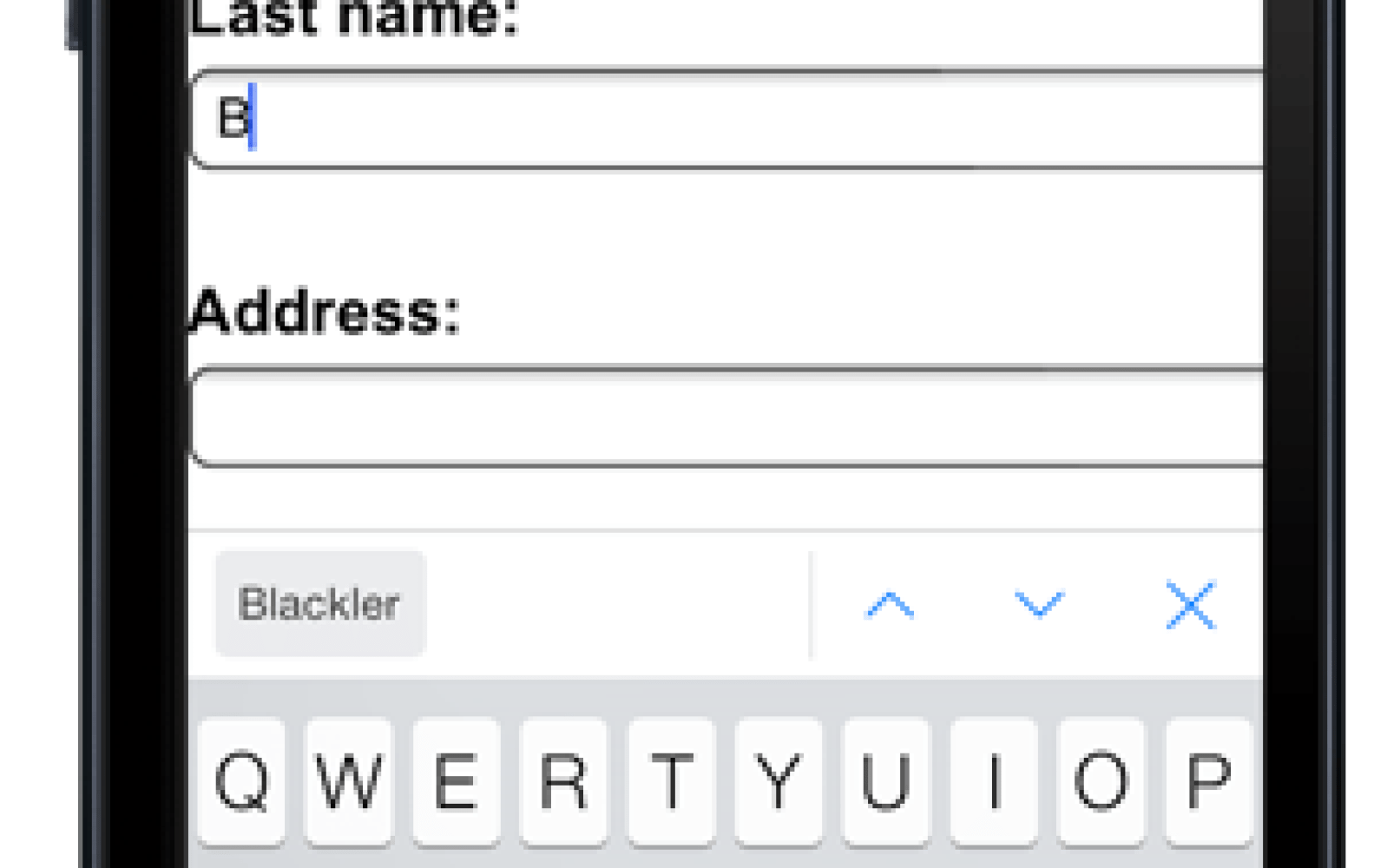 Chrome for iOS getting automated form-filling, synced to