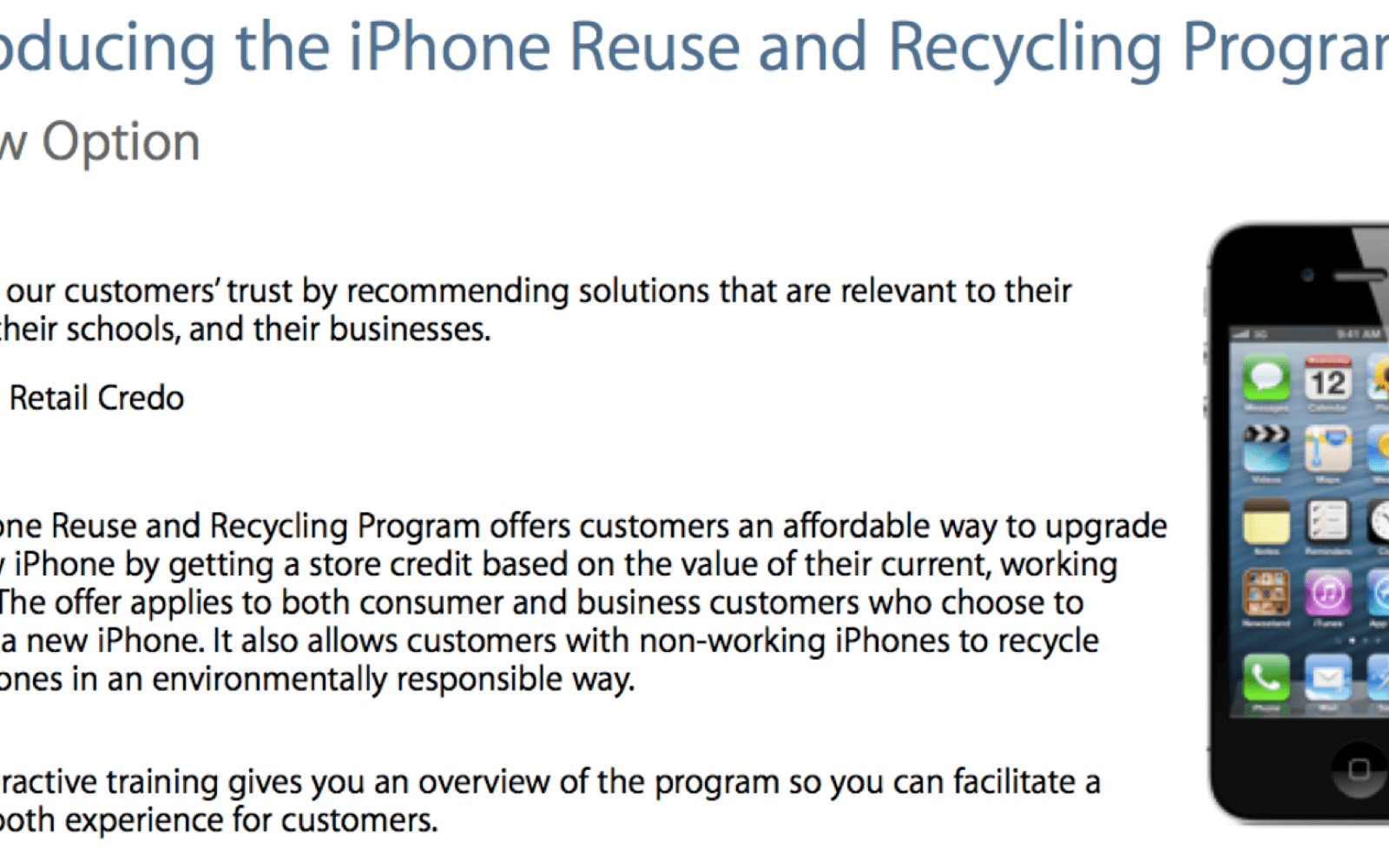 Apple loosens restrictions on water-damaged iPhones for Apple Store trade-in program