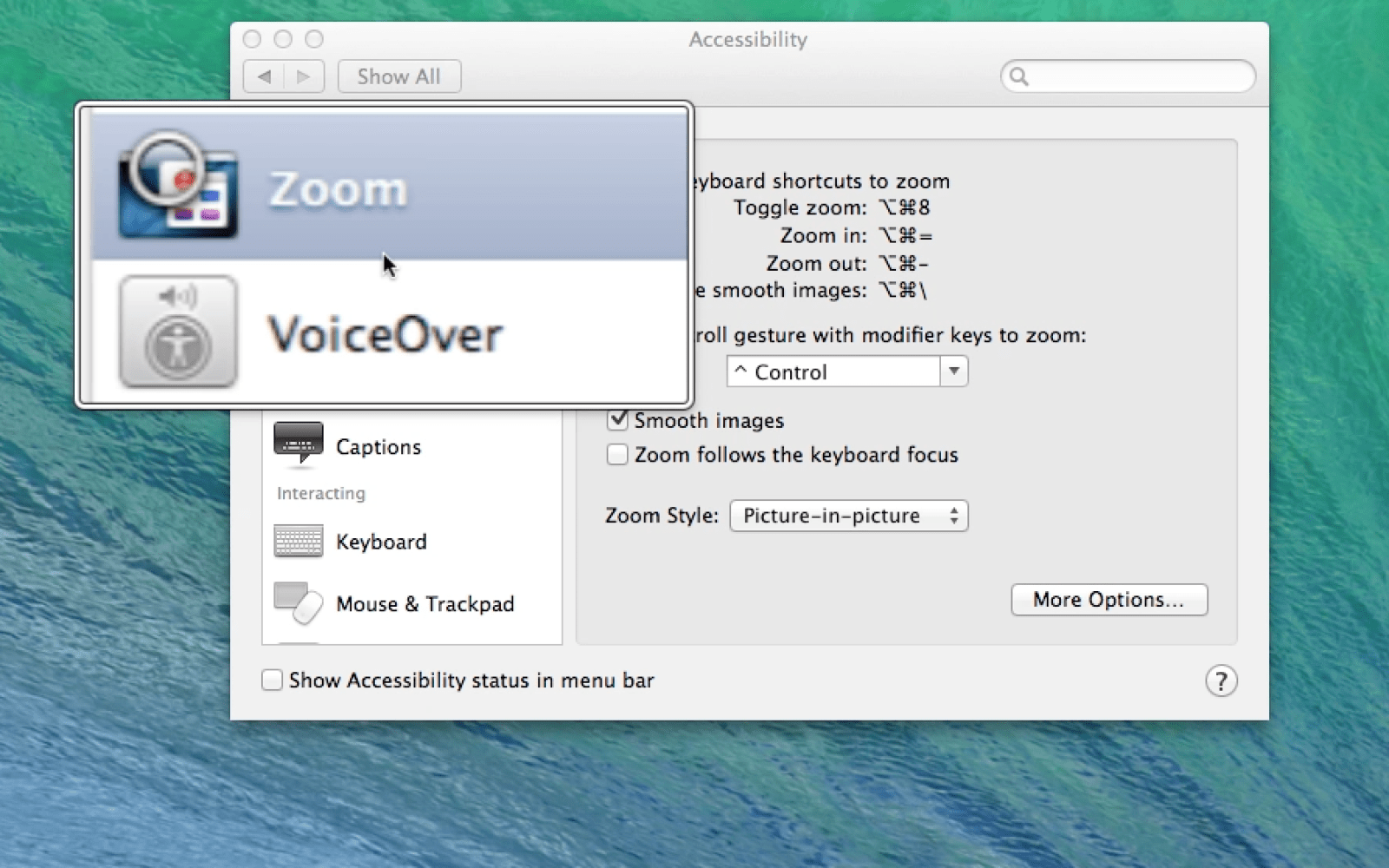 How-to: Take advantage of Zoom and Large Text in OS X Mavericks