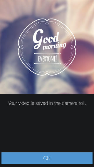 Veedeo for iPhone allows you to create and share custom video clips with animated text, music, and effects