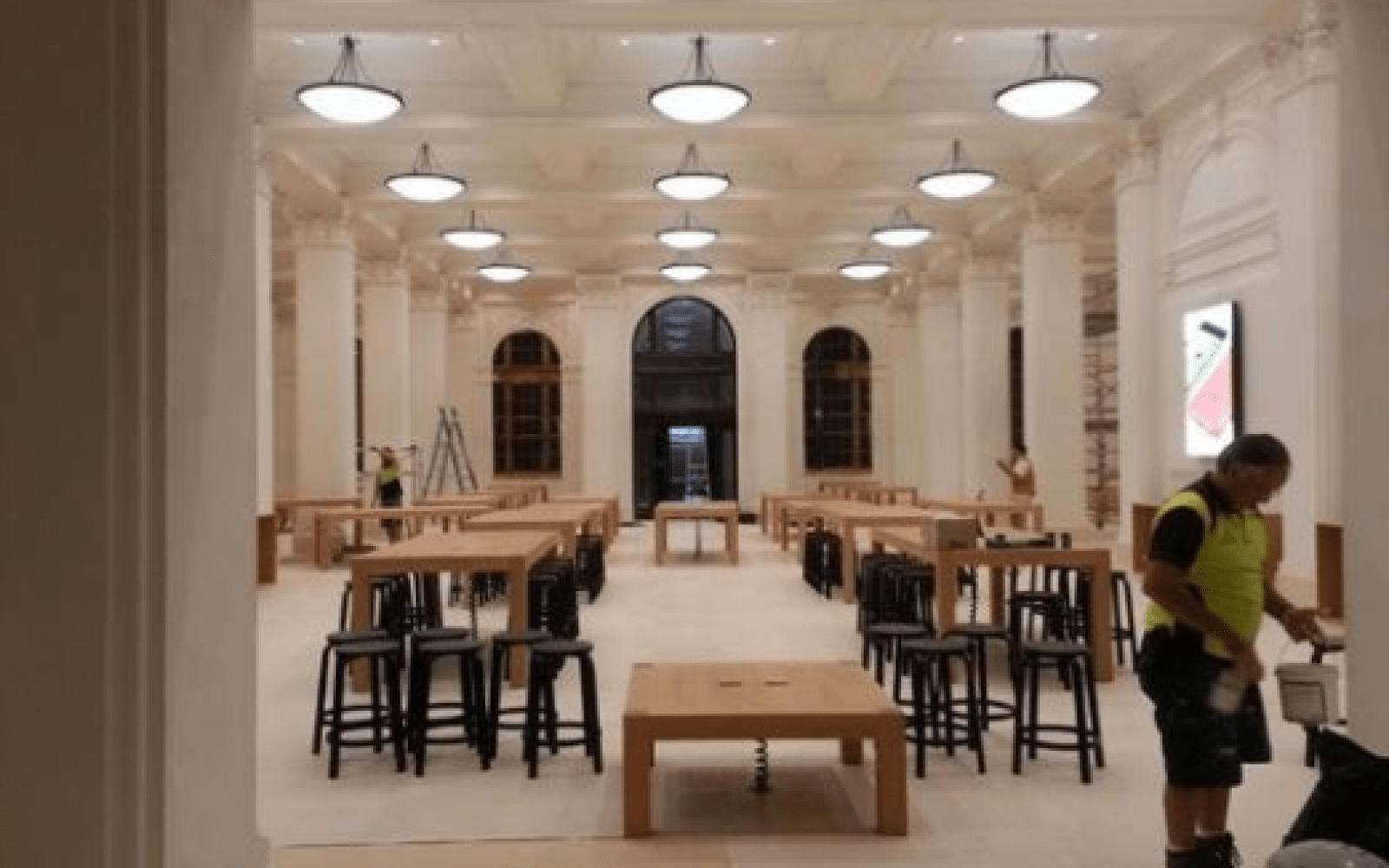 Leaked images provide a first look at the new flagship Apple Store in Brisbane, Australia