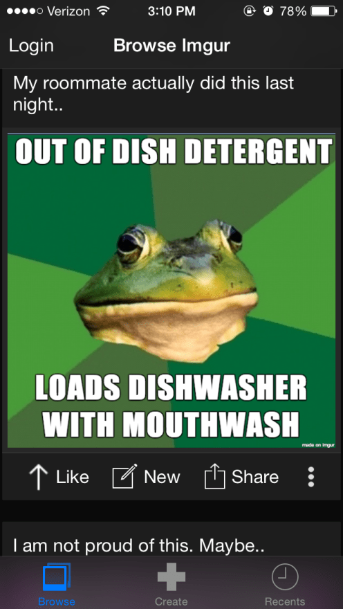 Imgur MemeGen app launches on iOS, lets you make your own memes