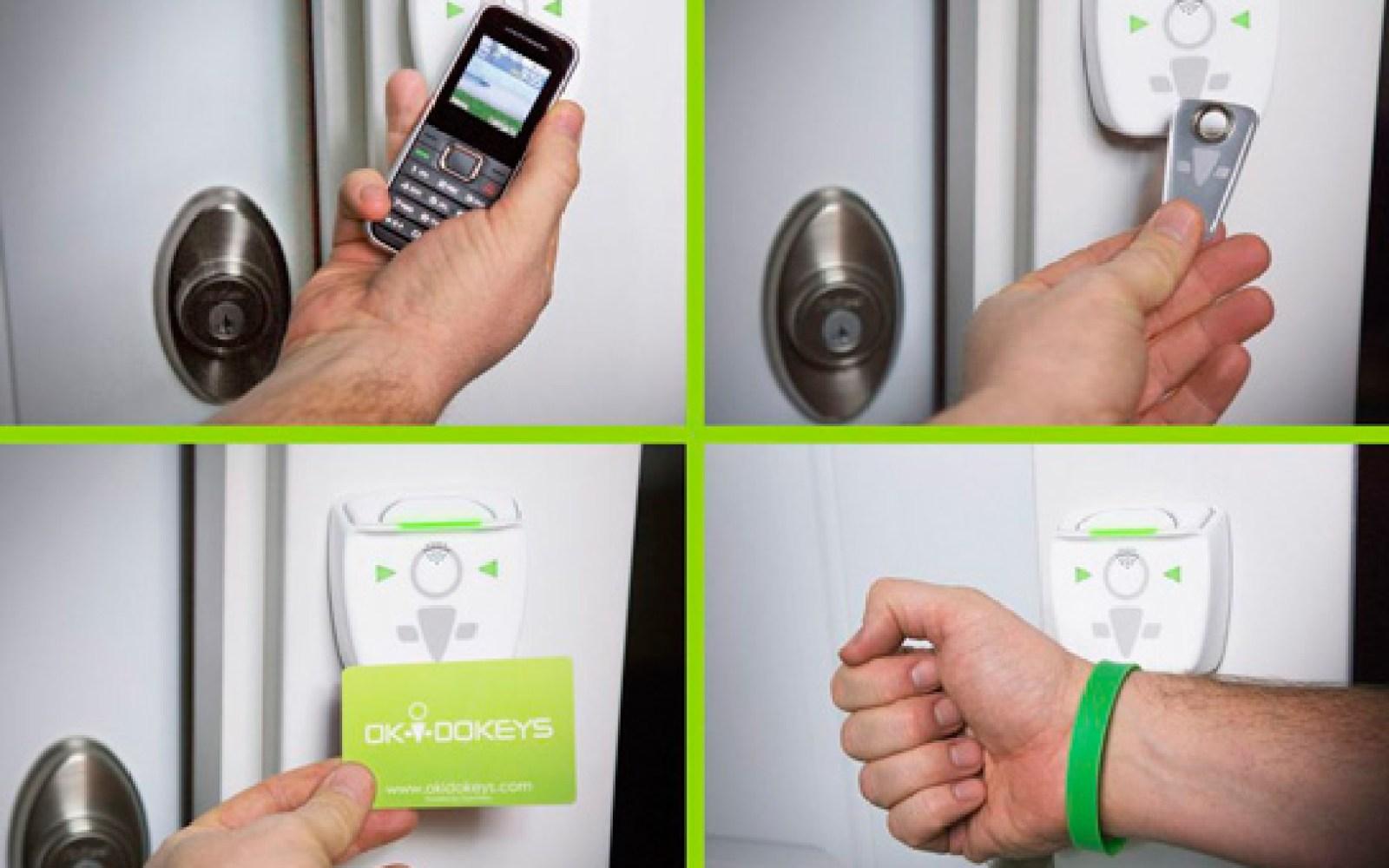 iPhone-controlled door lock market heating up as Openways announces Okidokeys