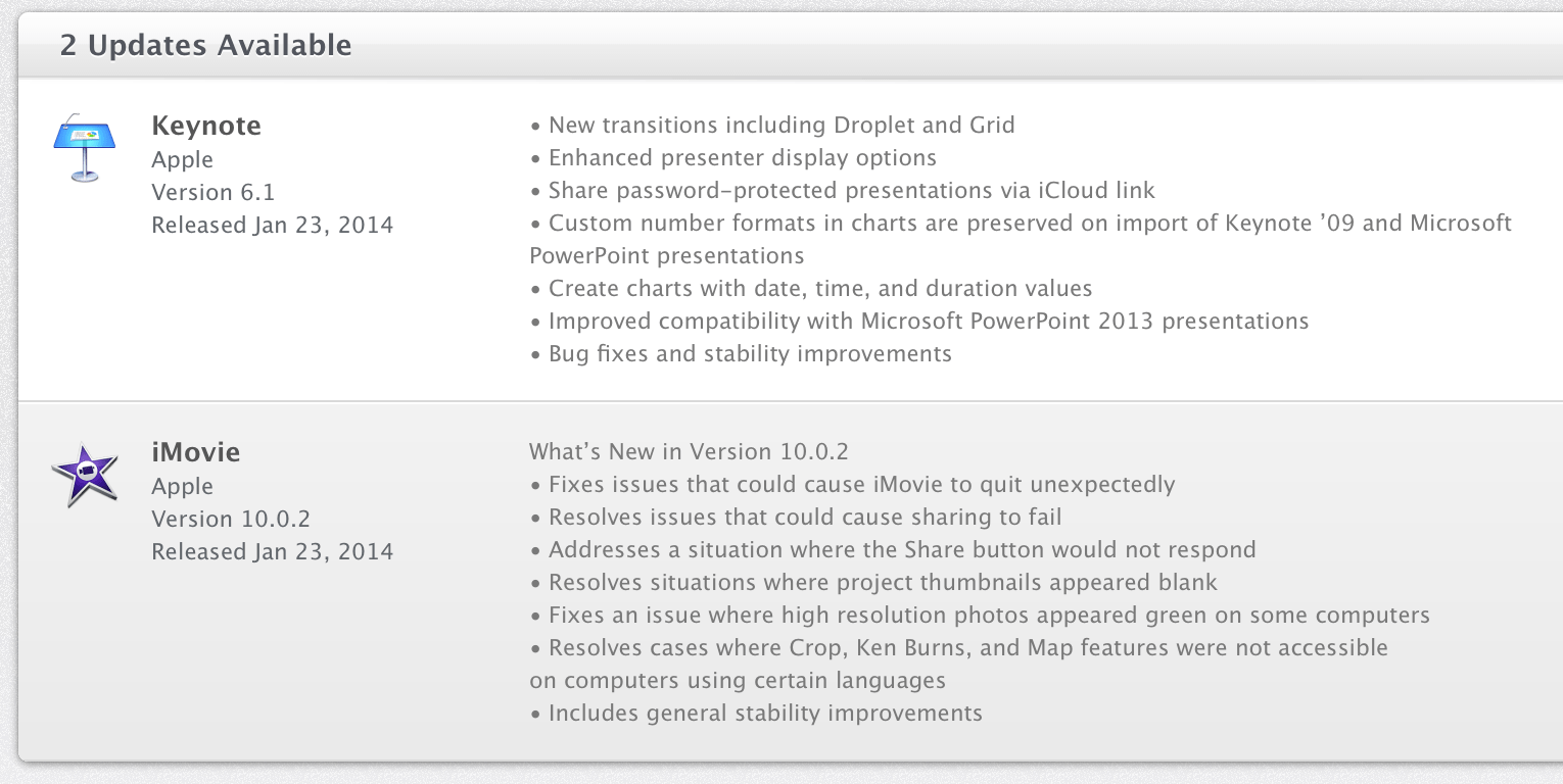 Apple updates keynote with new transitions fixes issues with imovie apple updates keynote with new transitions fixes issues with imovie on os x 9to5mac ccuart Images