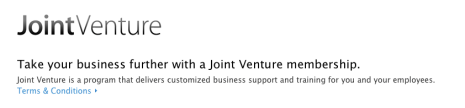 Old gradient-filled version of the JointVenture logo