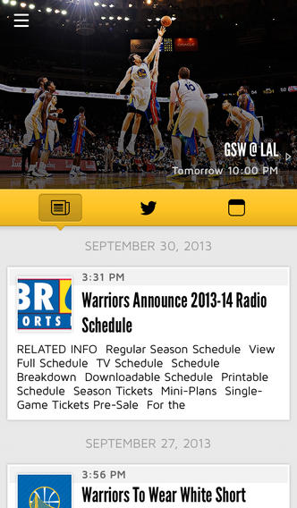 Warriors become first NBA team to rollout iBeacons, push seat upgrade offers to nosebleeds