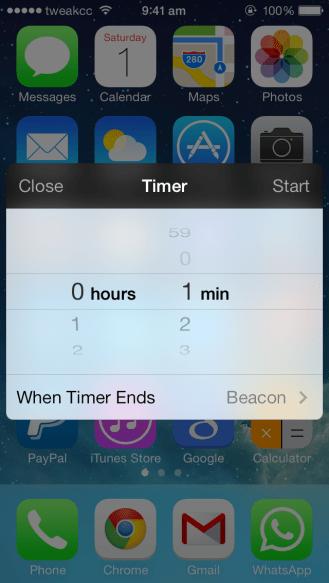 Timer widget