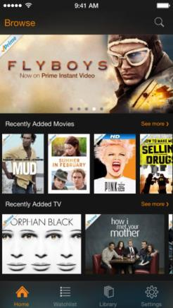 Amazon updates Instant Video iOS app with iOS 7 inspired redesign