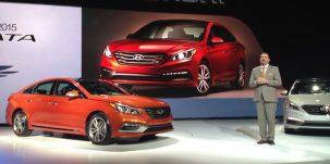 Hyundai Sonata 2015 with CarPlay