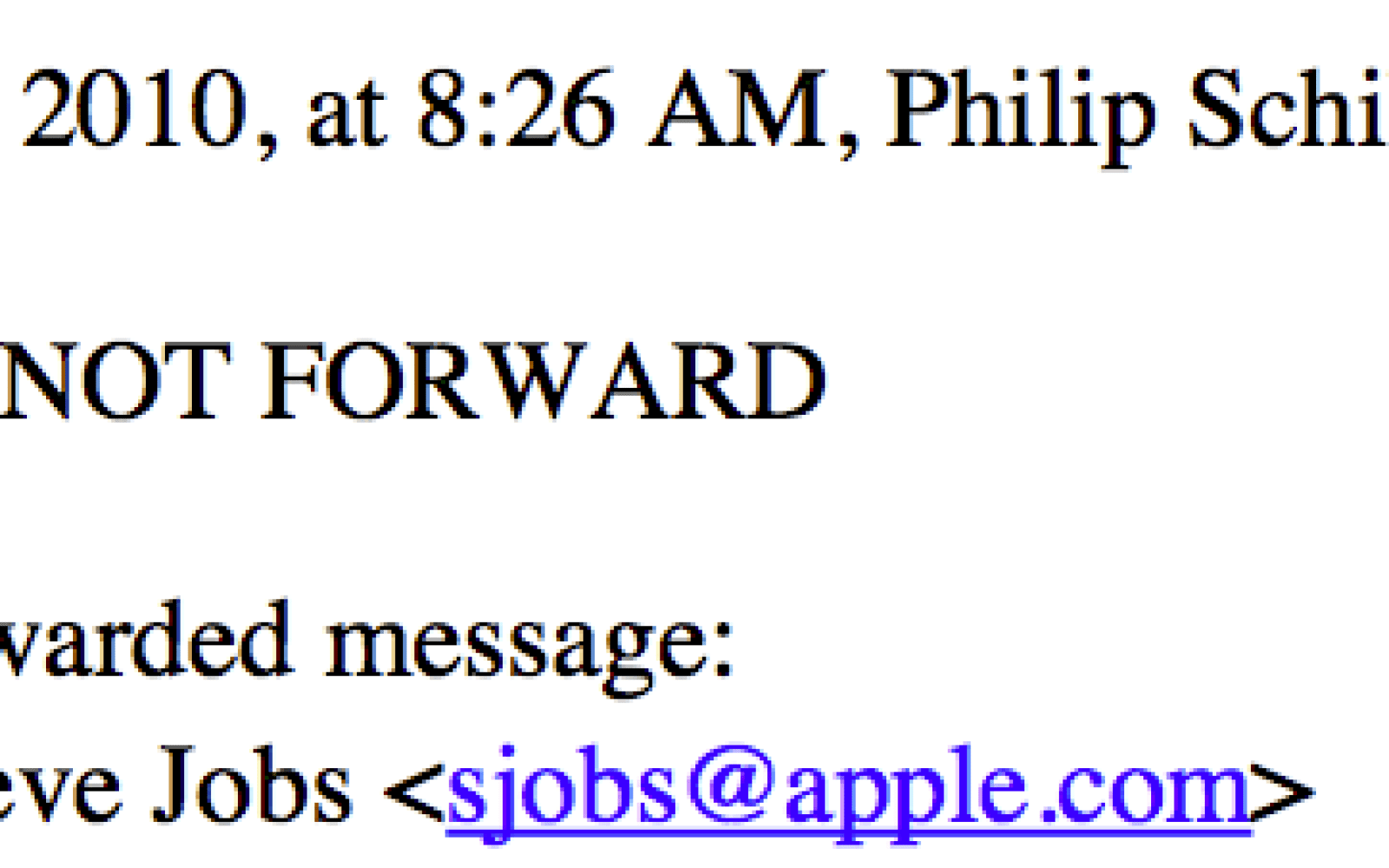 New Steve Jobs email a treasure trove of information about Apple TV, Google 'holy war,' and behind-the-scenes strategy