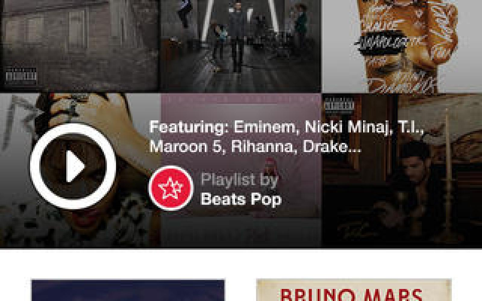Beats Music updated with subscriptions via in-app purchase, Facebook friend search, and a lot more