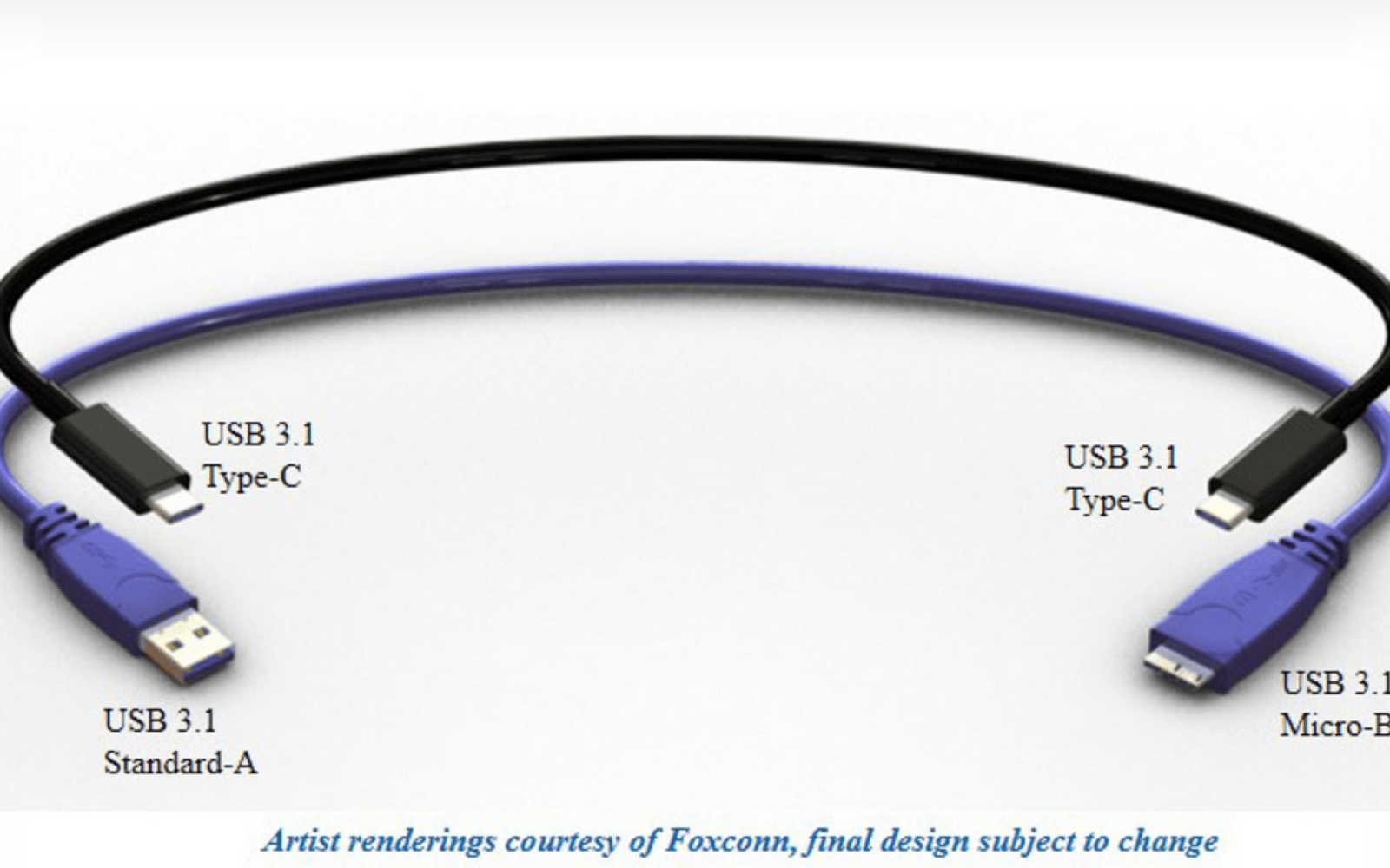 Render gives first look at next-gen reversible USB Type-C cable coming in July