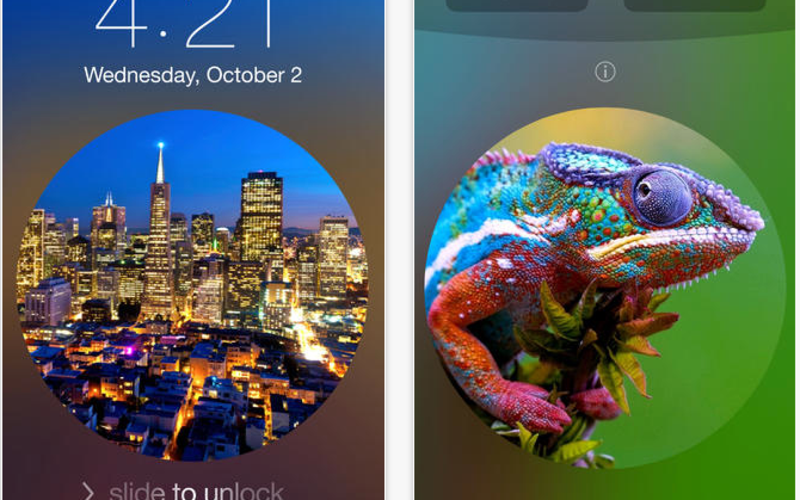 Mini-review: Lockscreen Wallpaper Designer, the simple iPhone app for creating prettier lockscreens