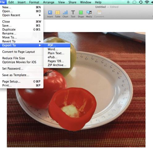 preview save as PDF