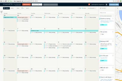 iOS calendar app update two-pack: Sunrise gains app integration as Magneto reaches iPad