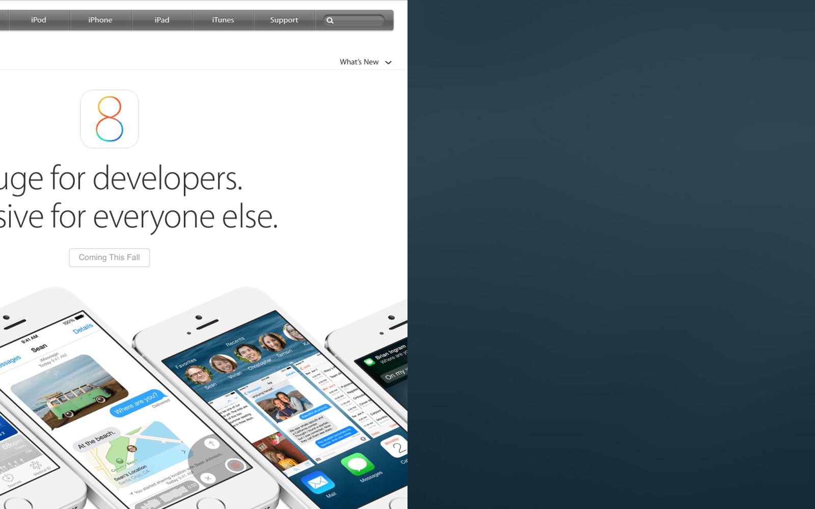 Here's the iPad split-screen app mode Apple is working on ...
