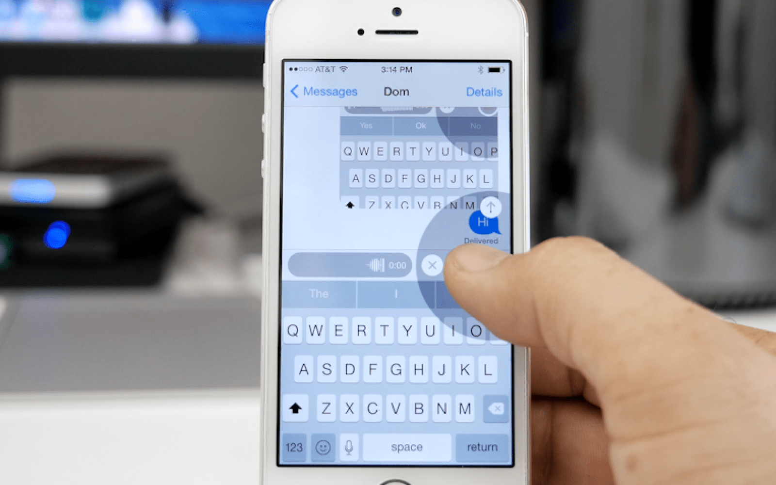 A detailed look at the Messages app's new features in iOS 8 (Video)
