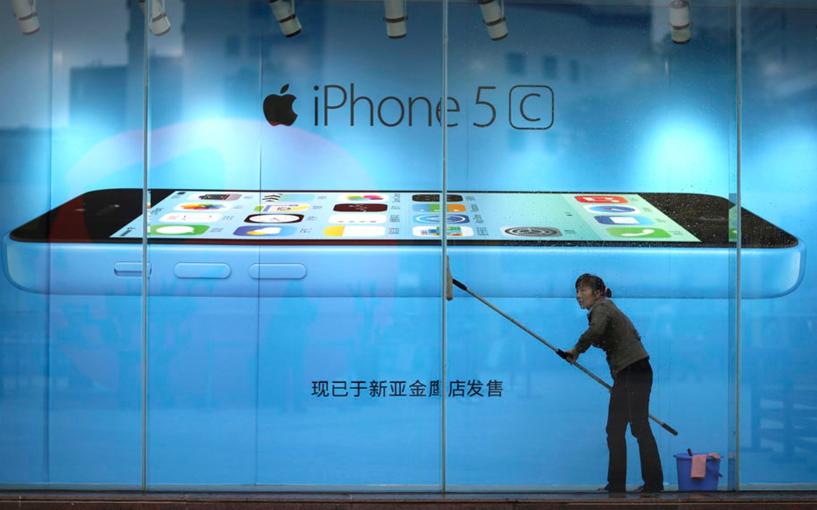 Chinese state TV annoyed by NSA, takes it out on Apple