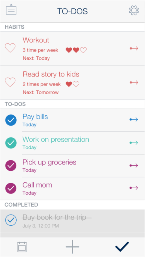 Timeful for iOS aims to help you make time to get everything done