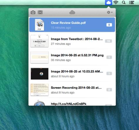 CloudApp UI