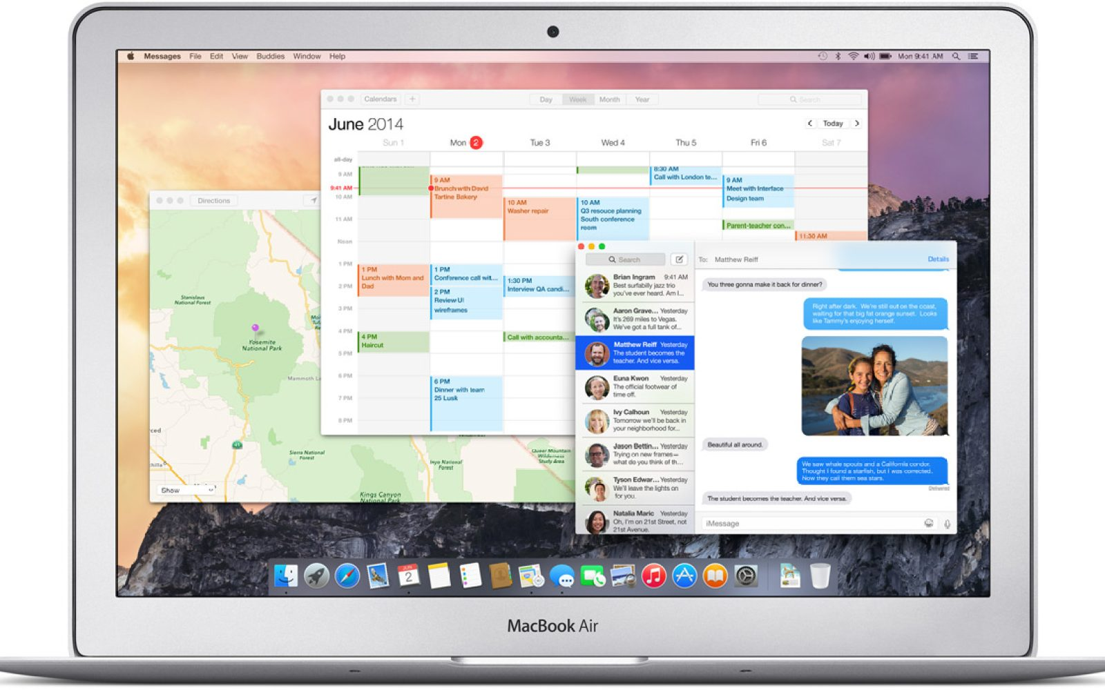 Mac OS X 10 10 Yosemite now available as a free download
