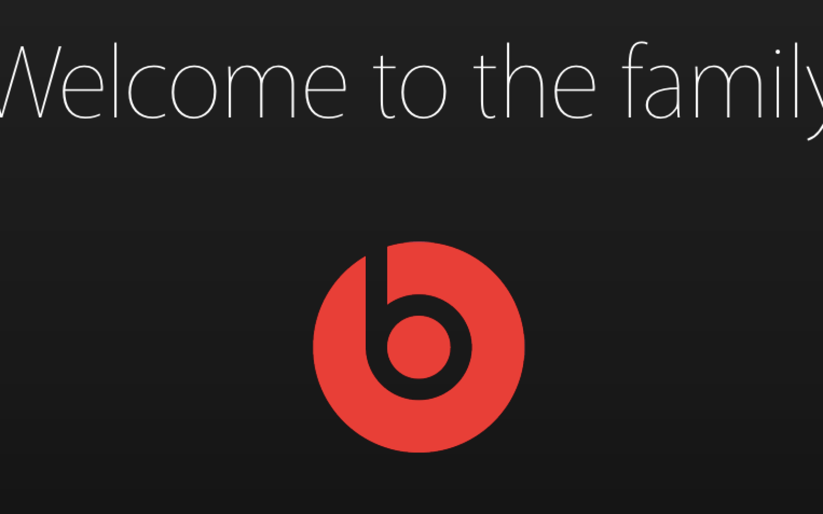 Apple officially welcomes Beats to the family as Beats moves online sales to Apple's site