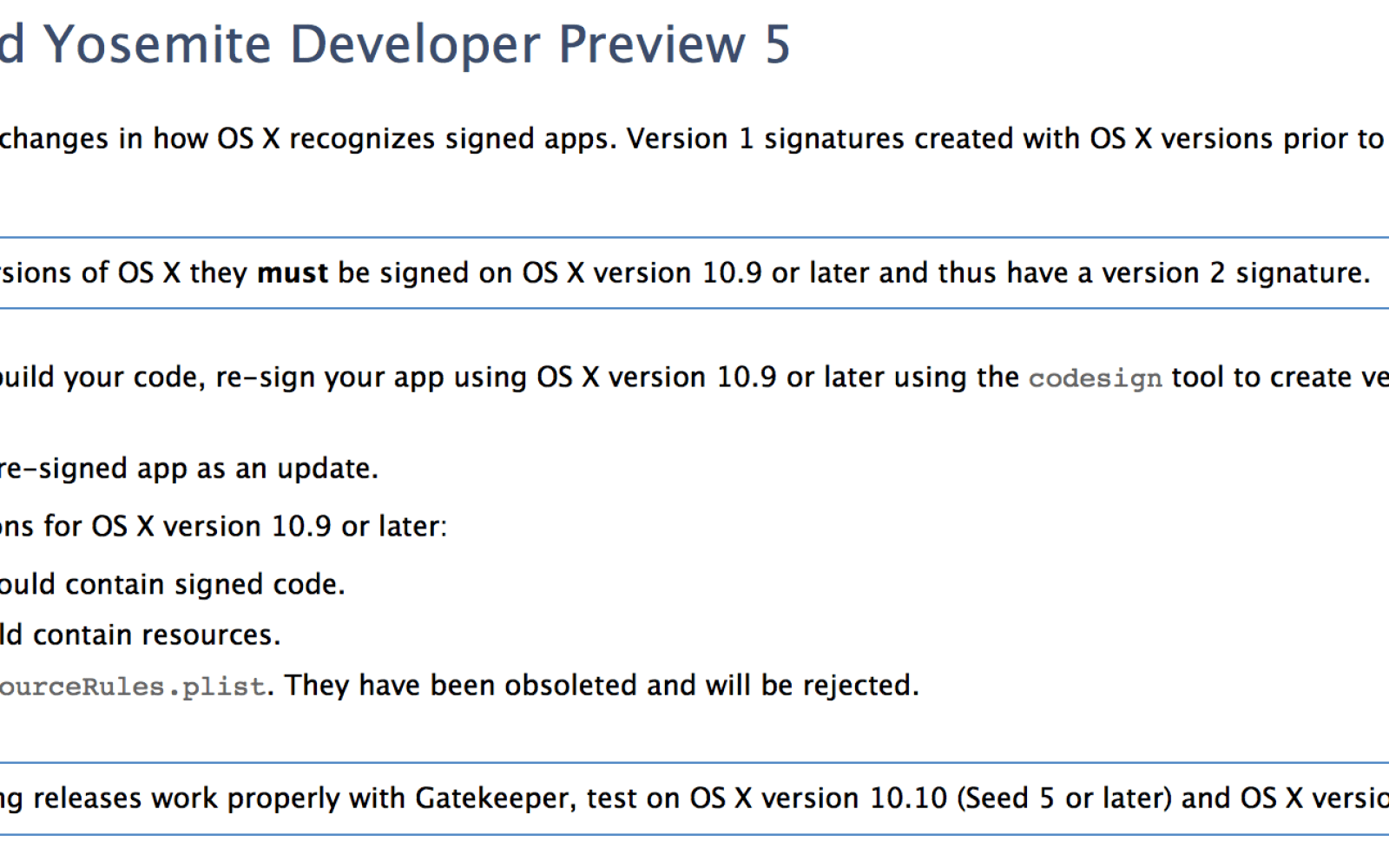 Apple changing Gatekeeper app signing rules in OS X 10.9.5 & Yosemite, could break some apps