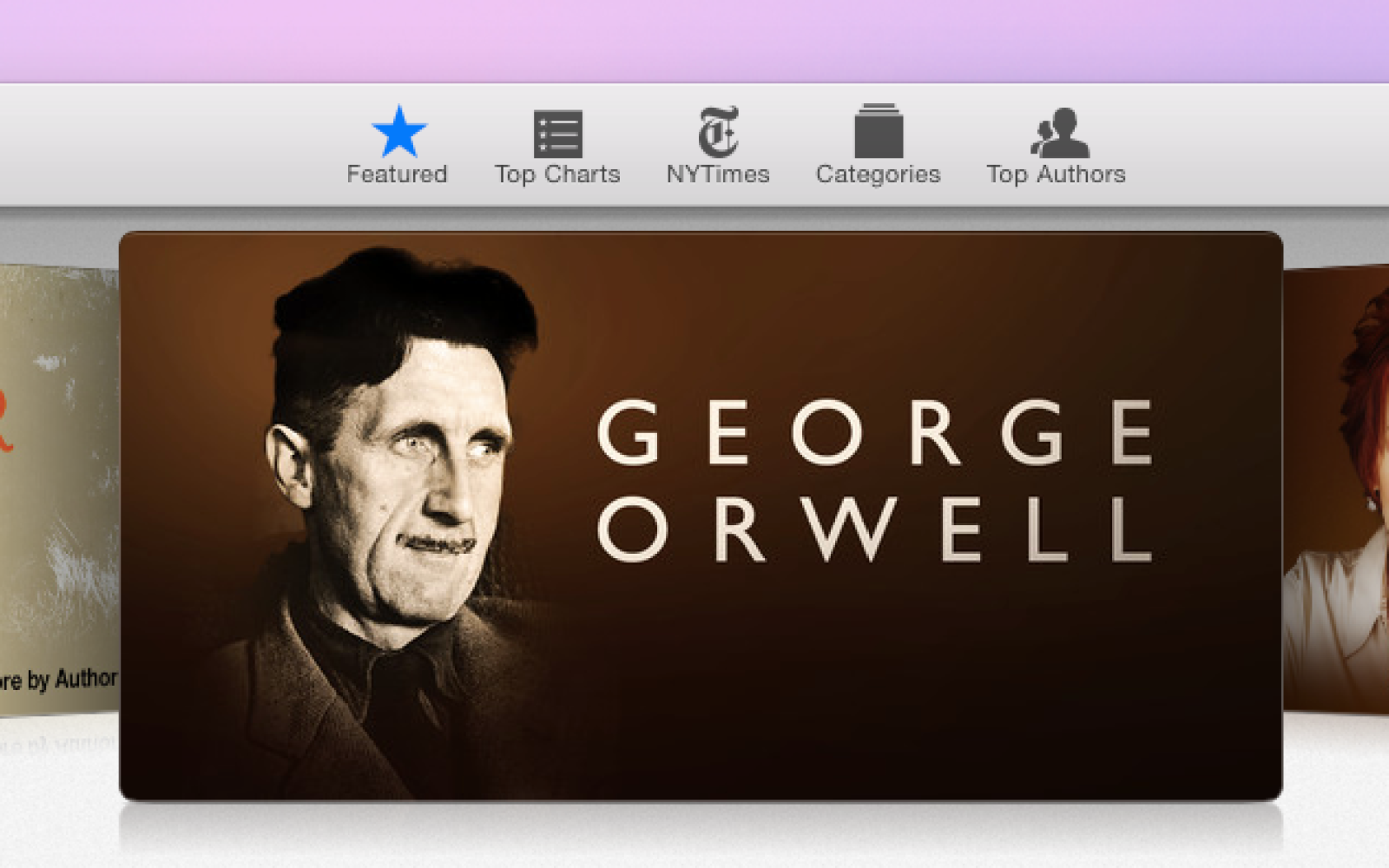 iBooks Store promoting George Orwell after Amazon incorrectly cites author in ebooks dispute