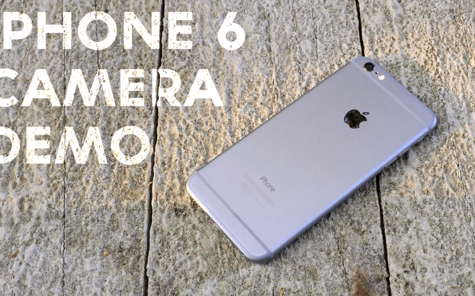 Epic iPhone 6 and iPhone 6 Plus cinematic camera demo (Video)