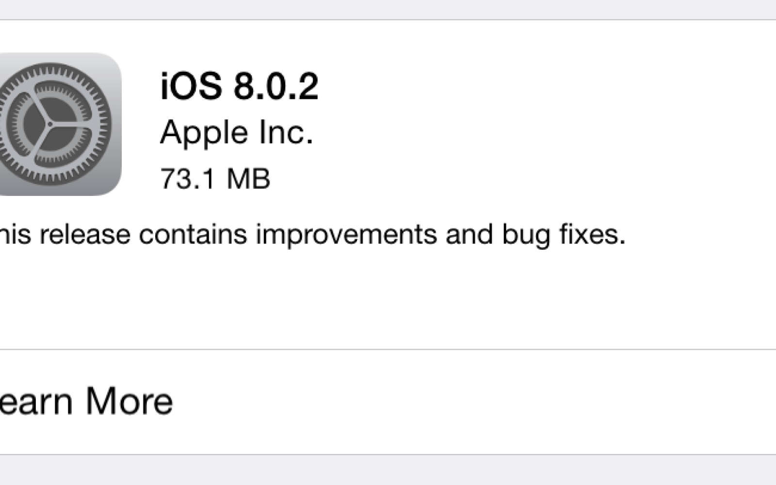 Apple releases iOS 8.0.2 to address cellular and Touch ID issues in previous update