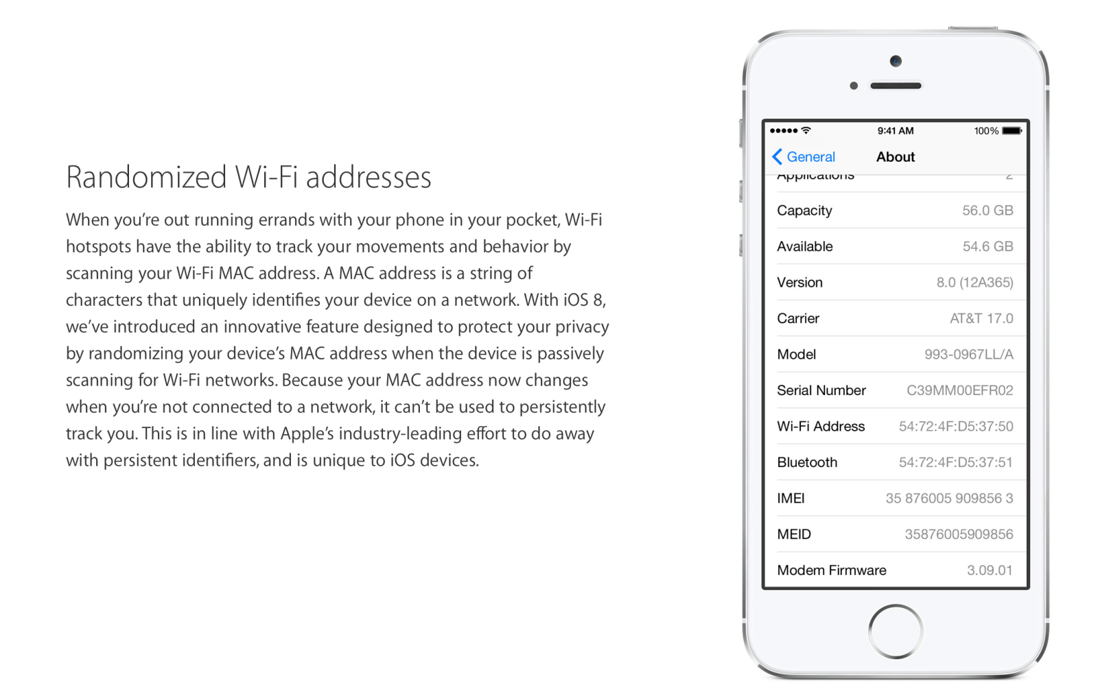 More details on how iOS 8's MAC address randomization feature works (and when it doesn't)
