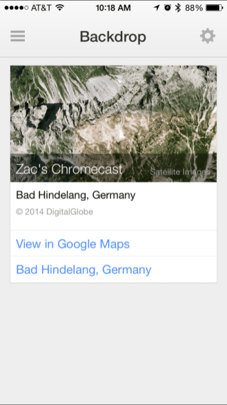 Backdrop Maps