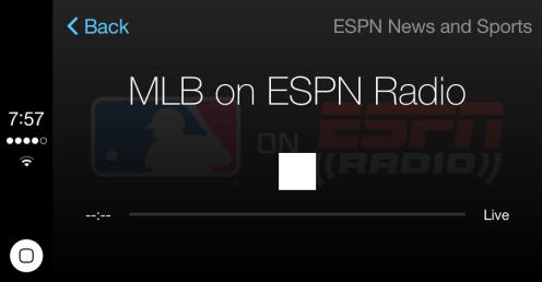 iTunes Radio ESPN