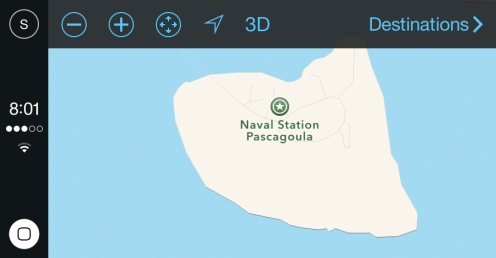 Maps view