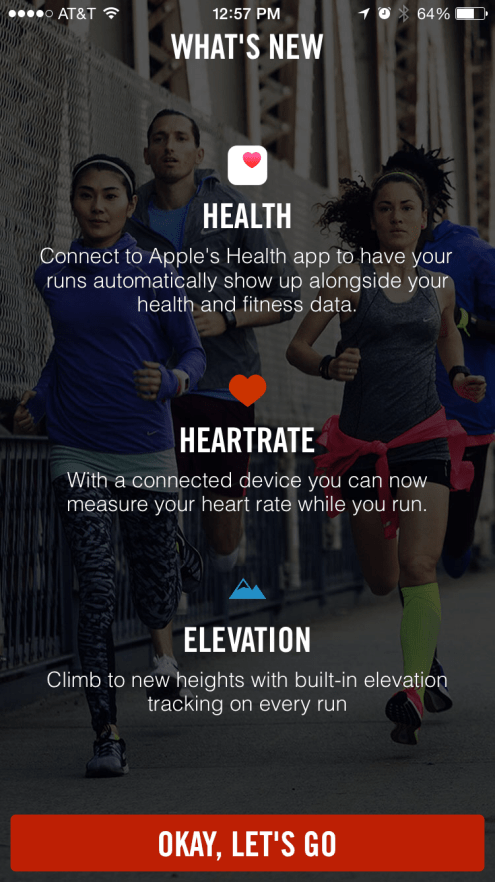 Nike+ Running iPhone app1