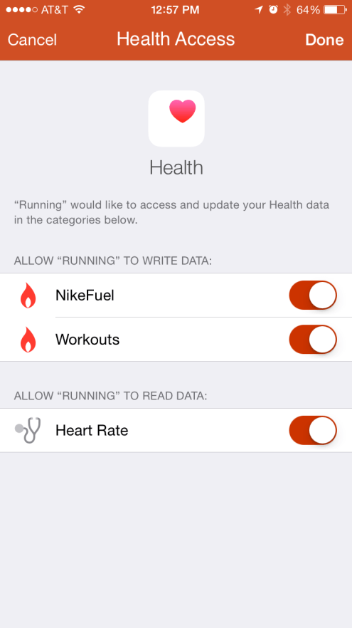 Nike+ Running iPhone app2