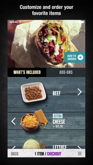 Taco Bell iPhone2