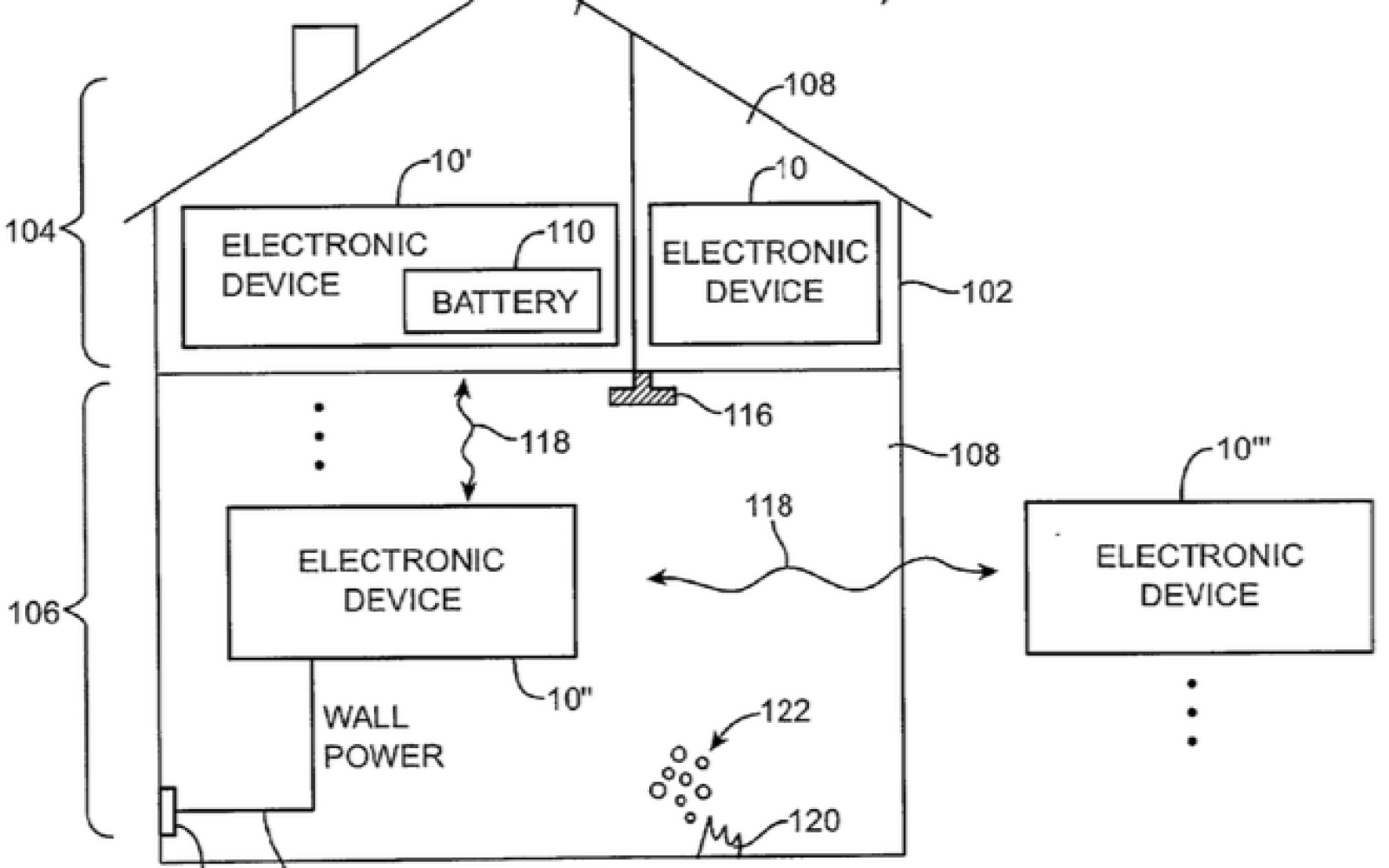 Apple patents smoke detectors in iDevices that can call 911, activate sprinklers and locate building occupants