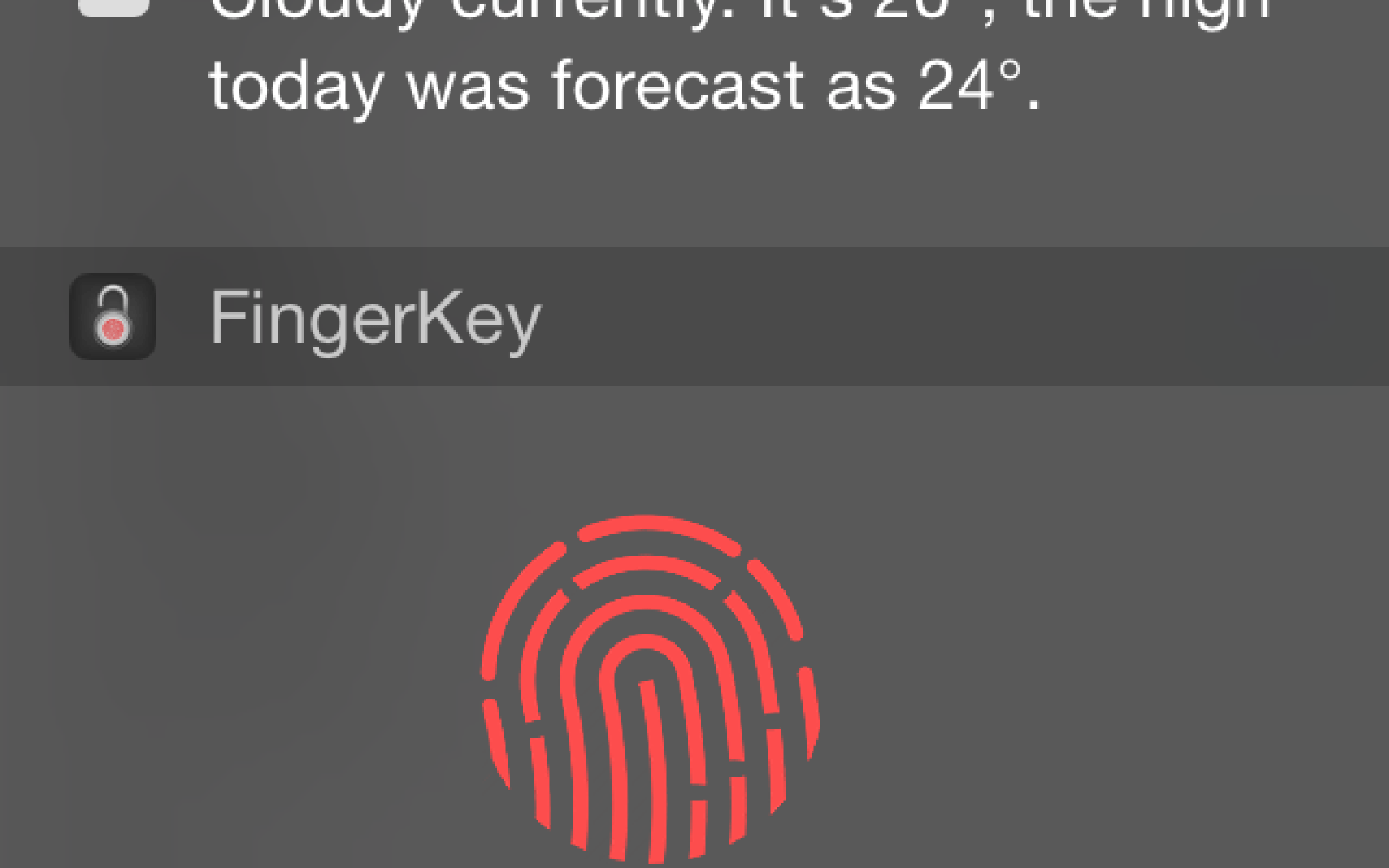 FingerKey app lets you unlock your Mac using iPhone's TouchID fingerprint sensor