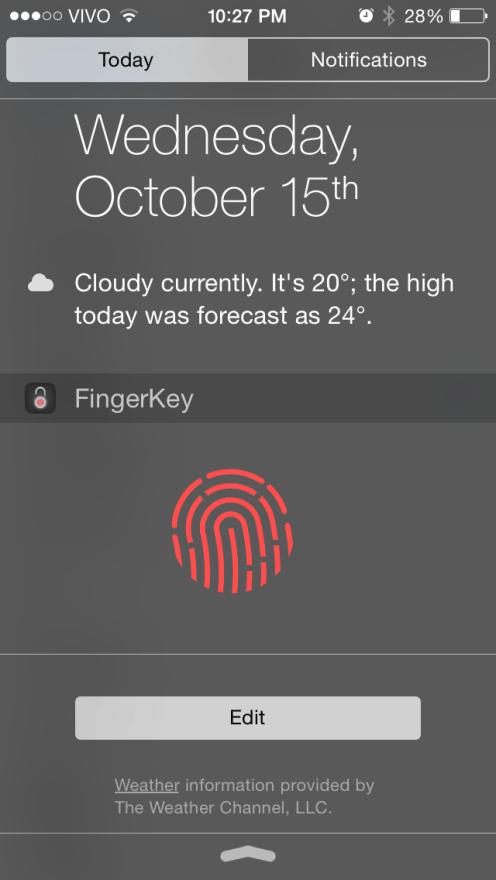 FingerKey app lets you unlock your Mac using iPhone's TouchID fingerprint sensor