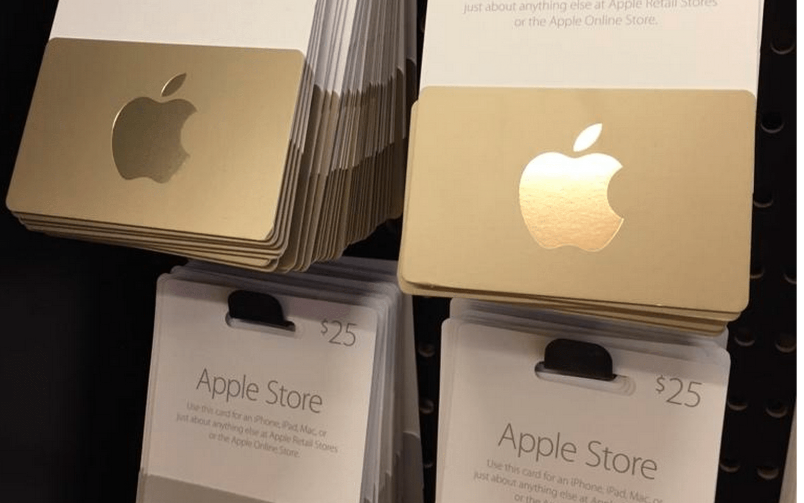 Apple Retail Gift Cards Arrive In Third Party Stores For The