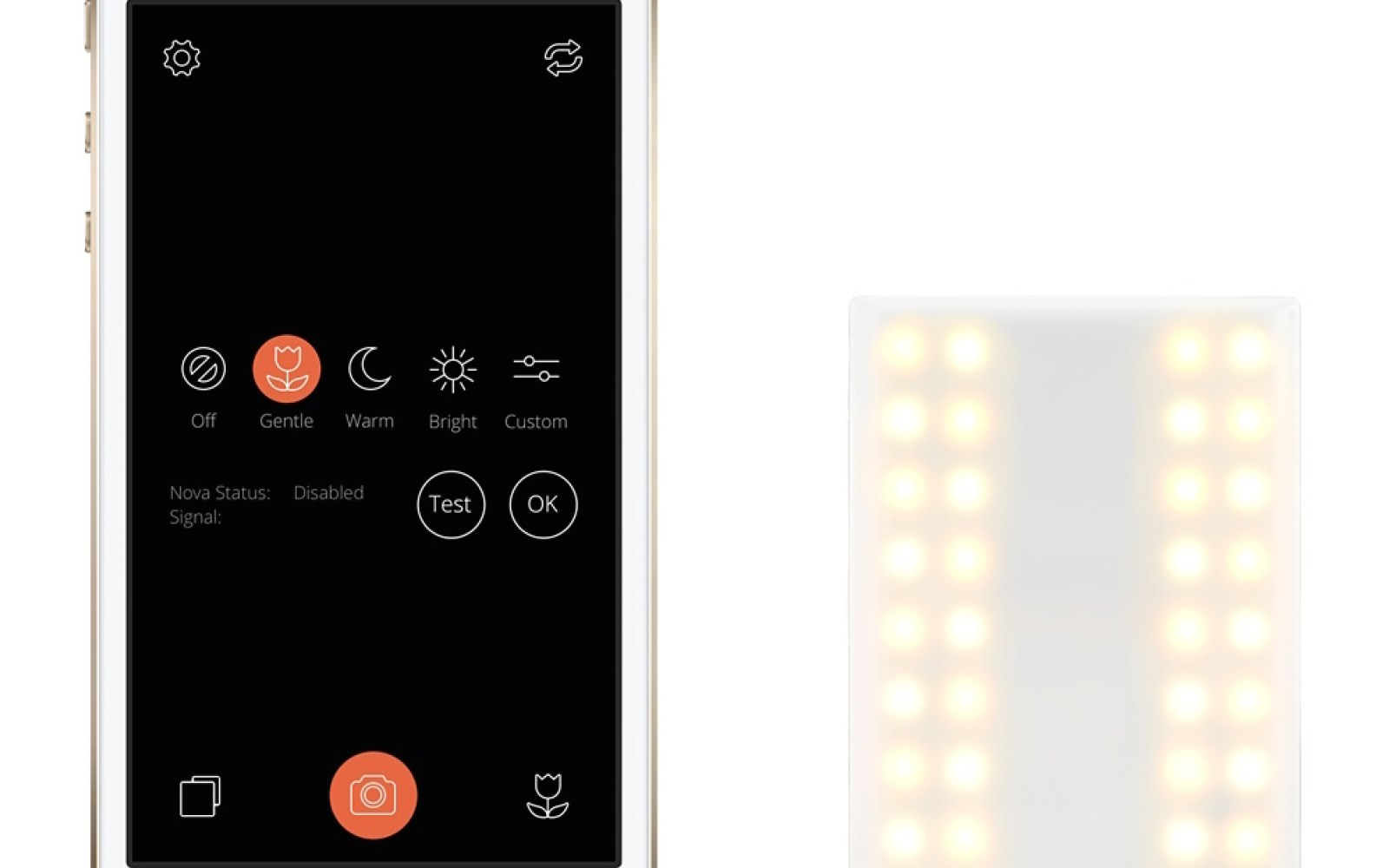 Nova wireless Bluetooth flash for iPhone now available through the Apple Store